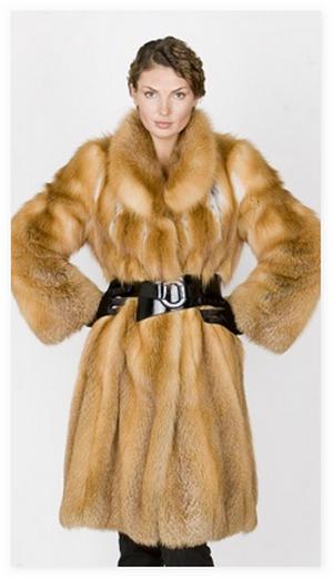 Шубы из лисы - Модно в России 2014, Кожаные куртки с мехом, фото, Сшить нео